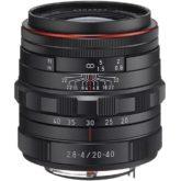 Comprar Objetivo Pentax HD DA 20-40mm F/2.8-4 ED BK al mejor precio en Andorra