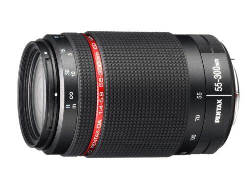 Comprar Objetivo Pentax HD DA 55-300mm F4-5.8 ED WR al mejor precio en Andorra