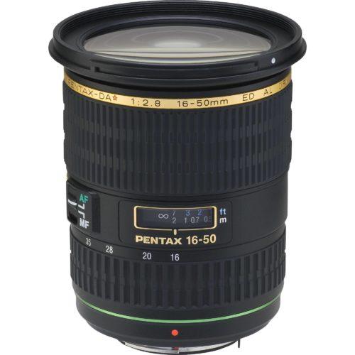 Objetivo Pentax DA 16-50mm F 2.8 ED AL (IF)