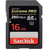 Comprar Sandisk Extrem Pro 16GB UHS-II 280MB/s al mejor precio en Andorra