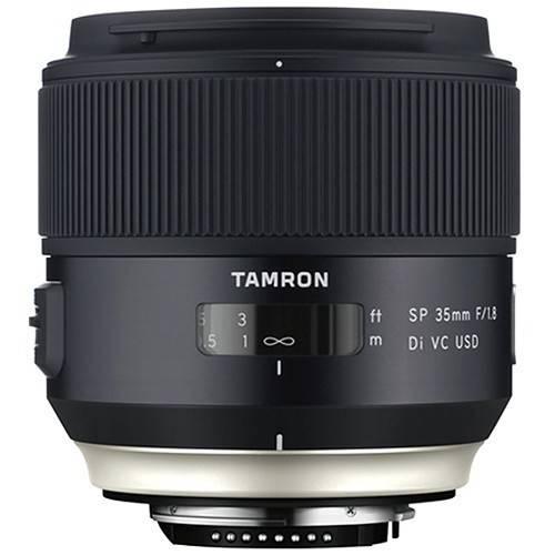 Comprar objetivo Tamron SP 35mm F/1.8 Di VC USD Canon al mejor precio en Andorra