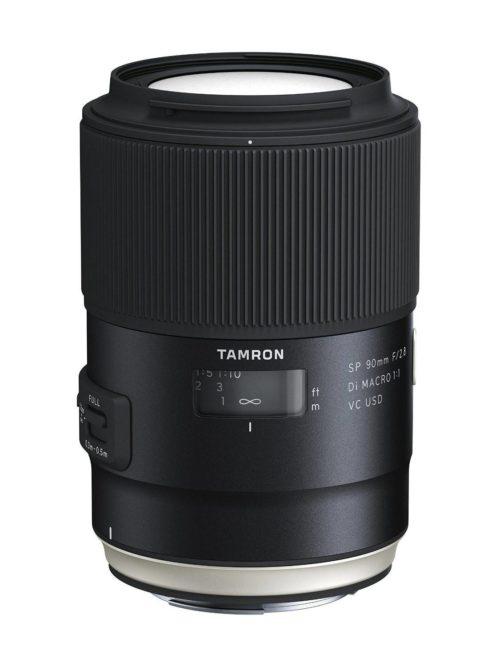 Comprar Objetivo Tamron SP 90mm f/2.8 Di macro 1:1 VC USD Canon al mejor precio en Andorra