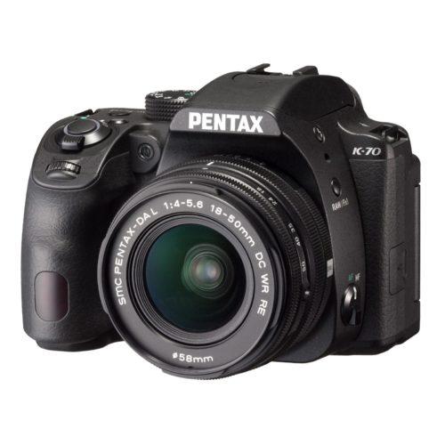 CÁMARA PENTAX K-70 +18-50 RE KIT BLACK