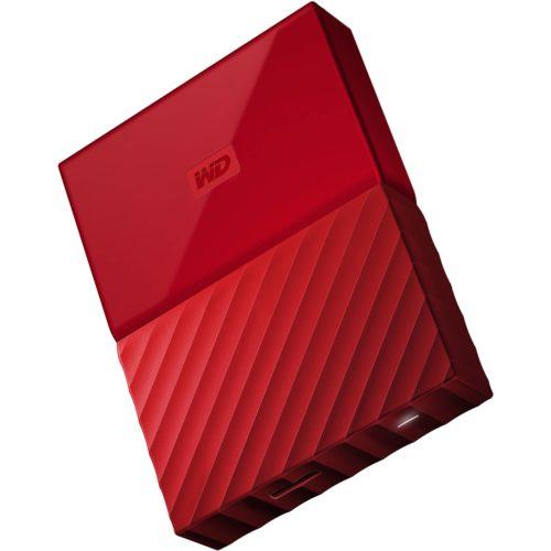 Western Digital My Passport 3TB Rojo en Andorvisio