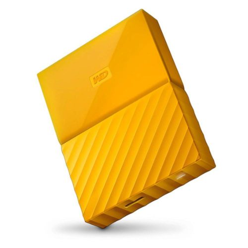 Western Digital My Passport 3TB Amarillo en Andorvisio