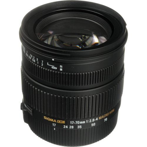 Objetivo Sigma 17-70 F/2.8 DC Macro OS HSM Canon